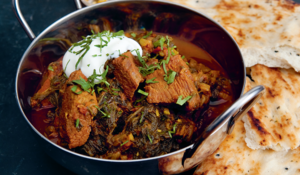 Beef and Spinach Curry