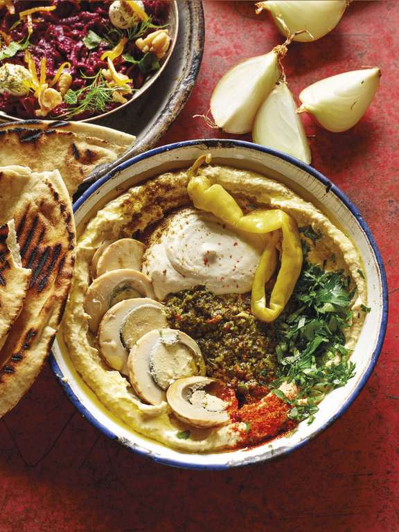 Berber & Q Hummus