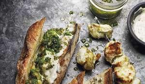 Barbecued Monkfish Kebabs Recipe  Berber & Q   Summer BBQ Recipes