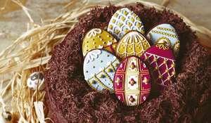 Biscuiteers Homemade Easter Egg Nest Cake Recipe