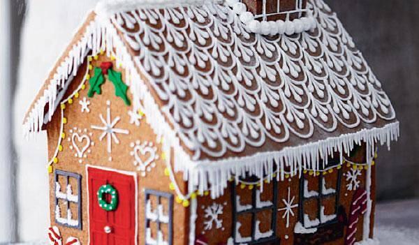 Biscuiteers Gingerbread House Recipe Christmas Baking Edible Gifts