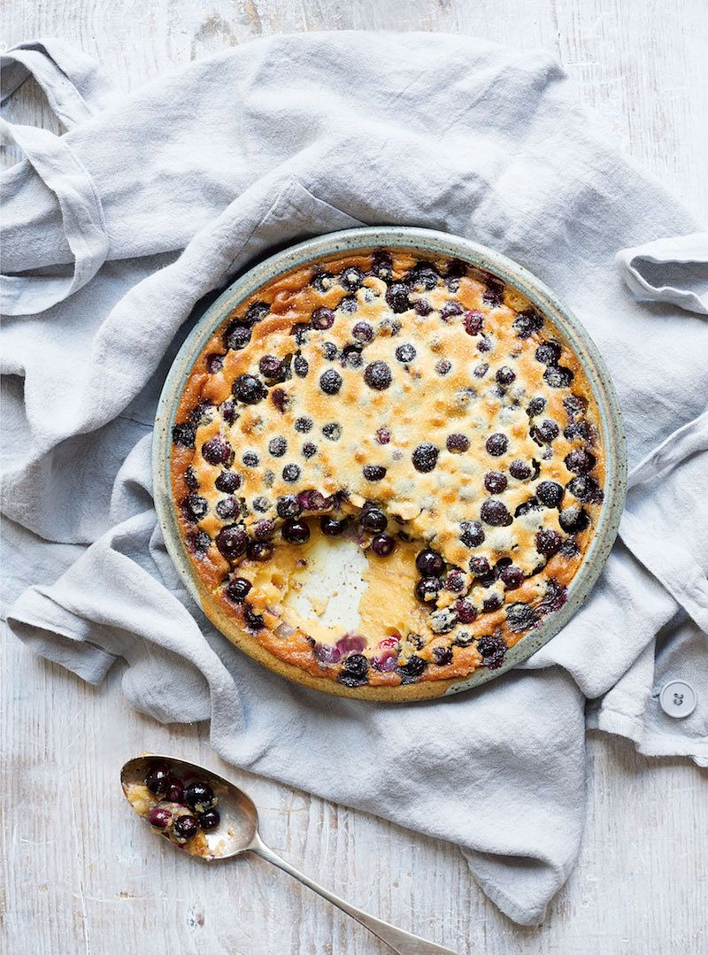 10 of best nadiya hussain desserts blueberry clafoutis nadiya kitchen