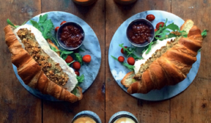 Thanksgiving or Boxing Day Croissant - the ultimate leftovers croissant
