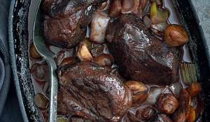 Braised Venison with a Chocolate Sauce