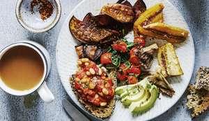 Rachel Ama's Full English Breakfast   Vegan Brunch