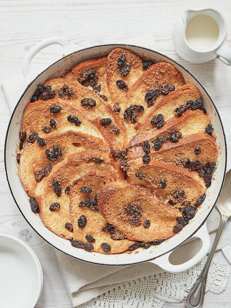 Classic British puddings from Mary Berry brioche bread and butter pudding foolproof cooking