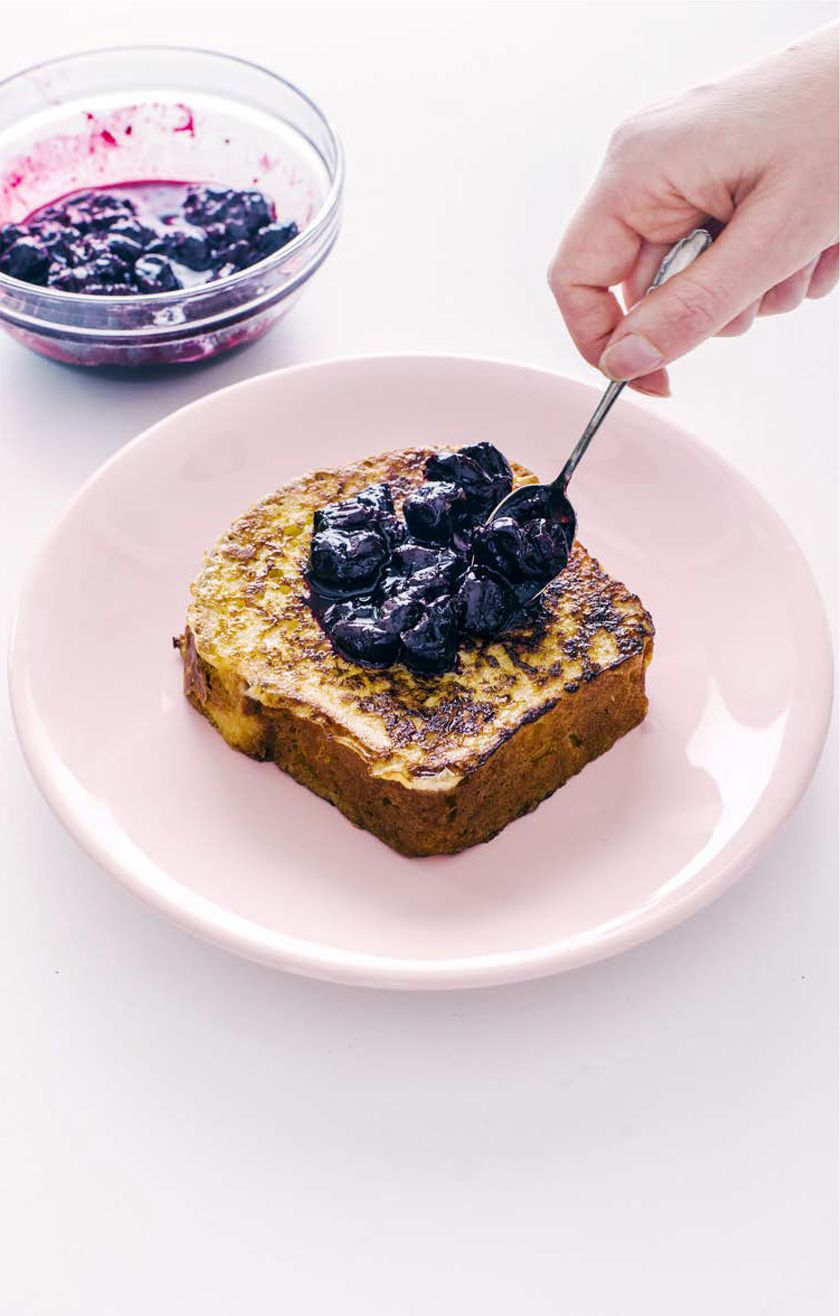 Brioche French Toast with Fresh Berry Compote Recipe