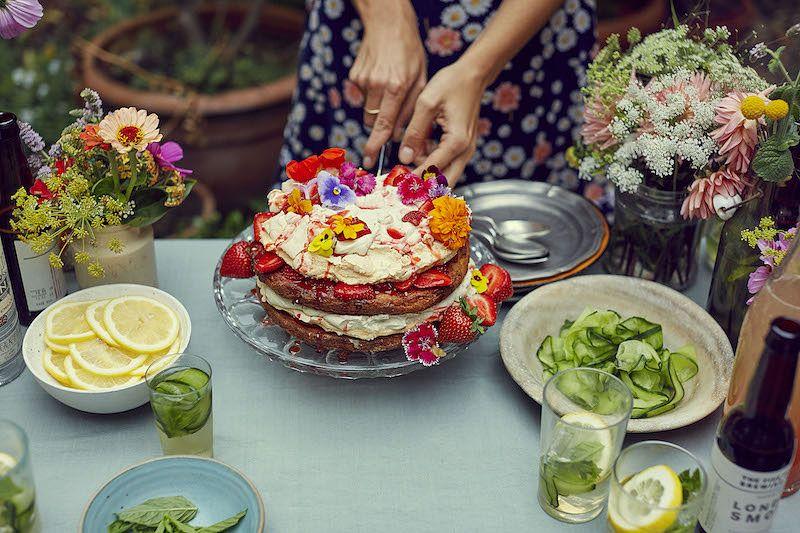 best barbecue desserts bbq desserts british summertime stack berry meringue cake georgina hayden