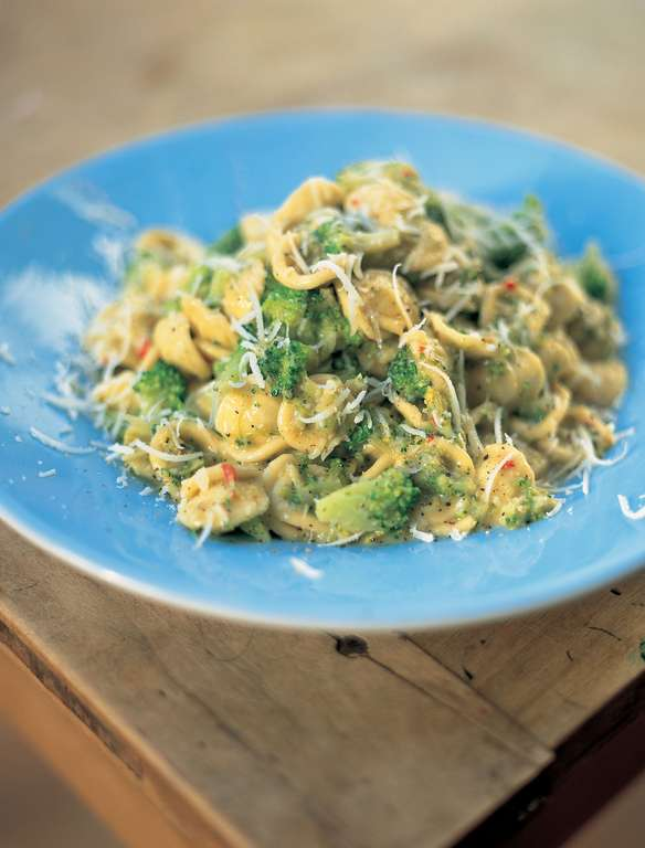 Broccoli and Anchovy Orecchiette