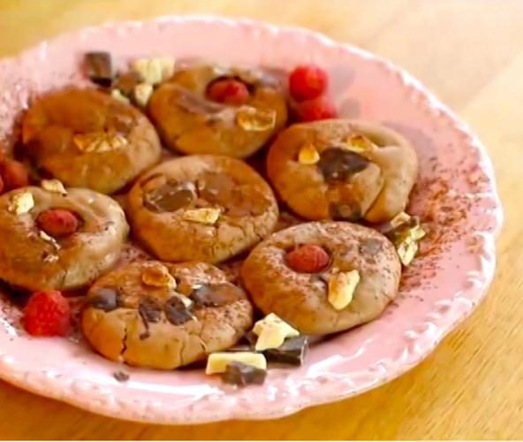 Chocolate Brownie Biscuits from Miranda Gore - Browne's cookbook Biscuit
