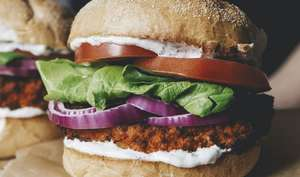 Vegan Buffalo cauliflower Sandwich Recipe