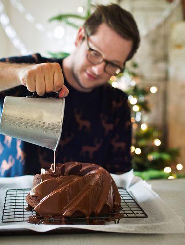 Edd's Spiced Chocolate Bundt Cake Great British Bake Off Christmas Cookbook