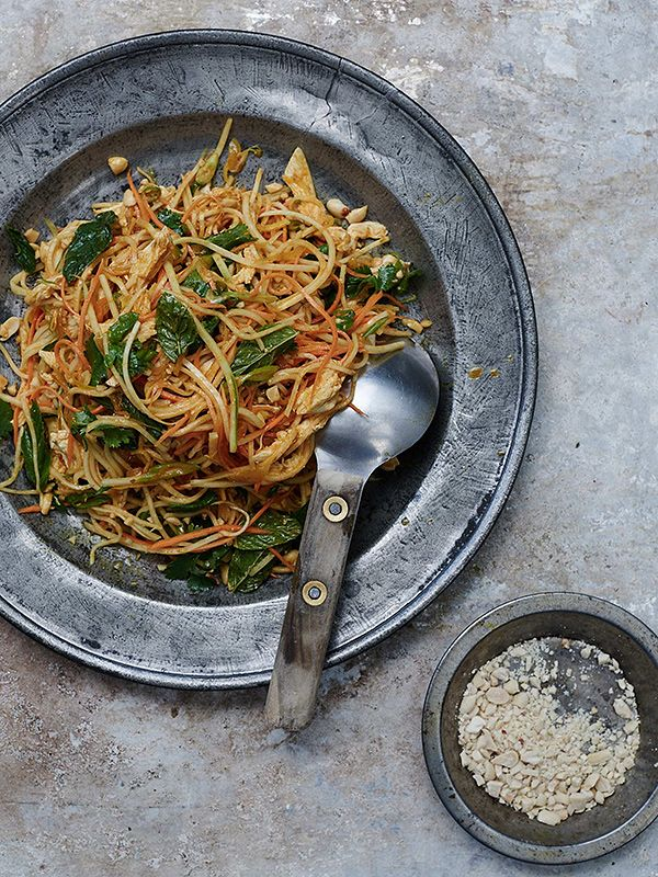Asian chicken salad - Best Asian Salad Recipes for this Summer | Burmese, Thai, Japanese
