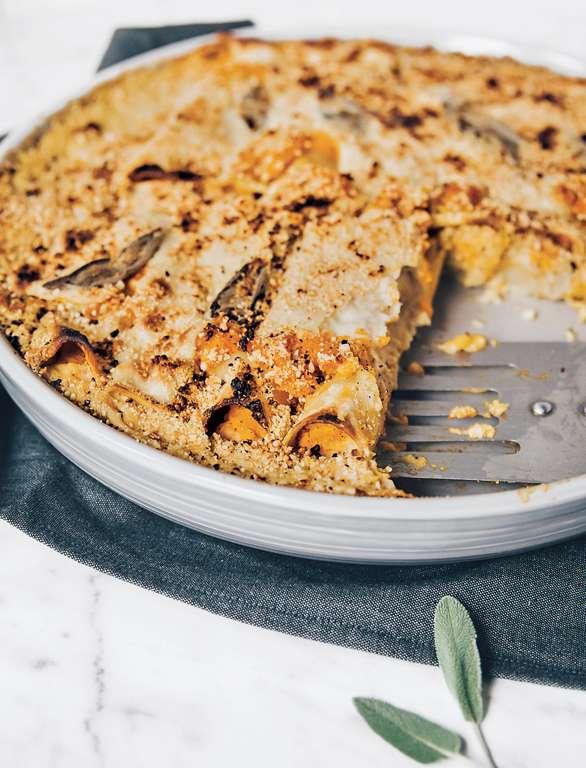 Vegan Butternut Squash Cannelloni