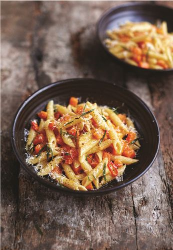 Butternut Squash and Pancetta Penne