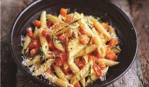 Butternut Squash and Pancetta Penne