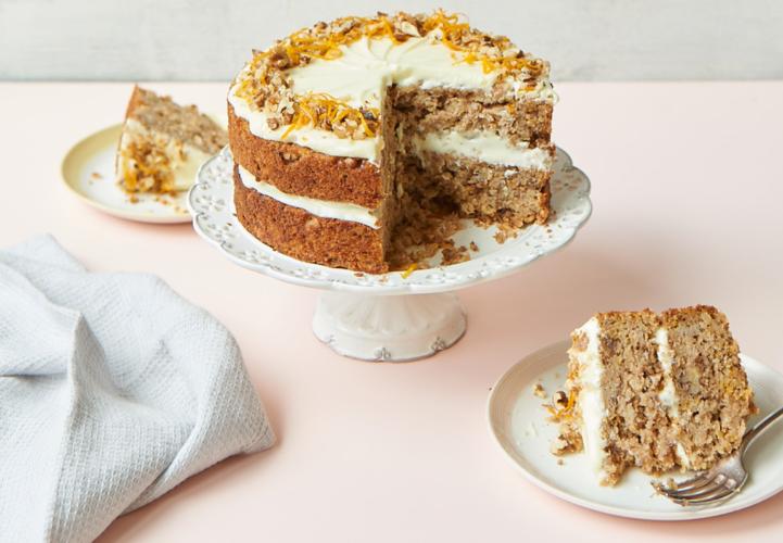 Parsnip and orange spiced cake from Nadiya's Kitchen