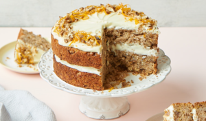 GBBO Nadiya Hussain Parsnip & Orange Spiced Cake Recipe