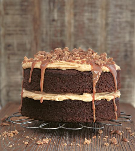 Gloriously Sticky Toffee Cake