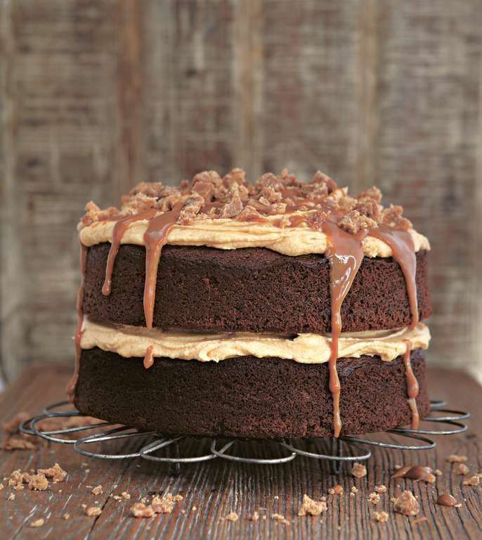 Gloriously Sticky Toffee Cake