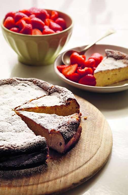 Ricotta Cake [budino di ricotta]