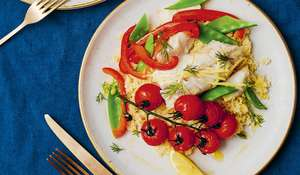 Candice Brown Lemony Cod Parcels | Easy Seafood Recipe