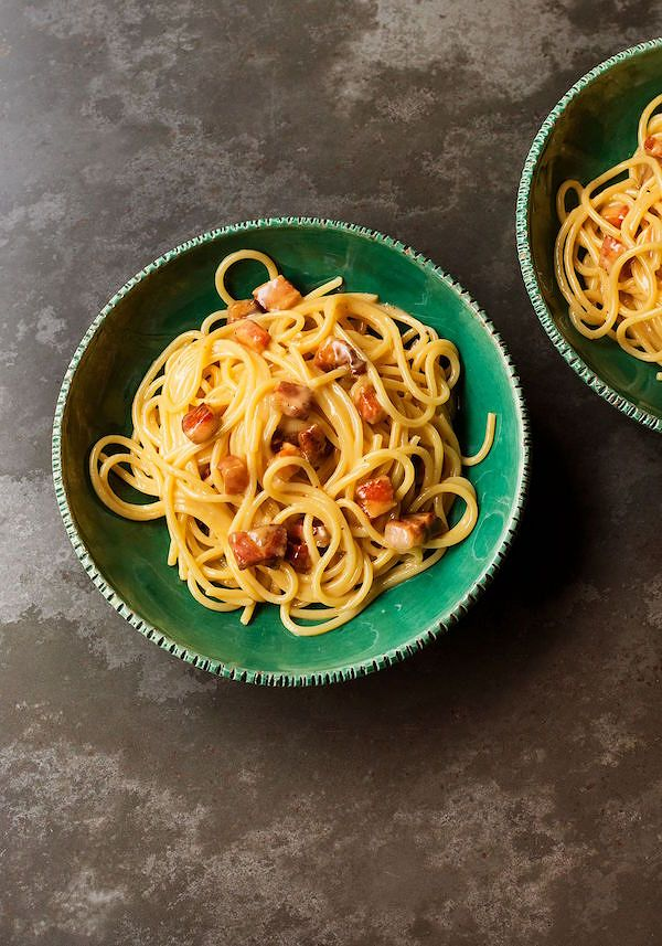 how to make the perfect Spaghetti Carbonara from How To Eat by Nigella Lawson