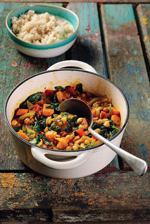 carribean vegan chickpea curry