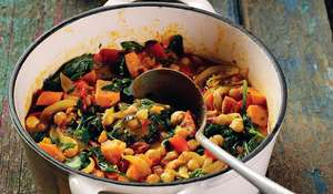 Caribbean-Inspired Chickpea Curry with Coconut Rice | Vegetarian Recipes