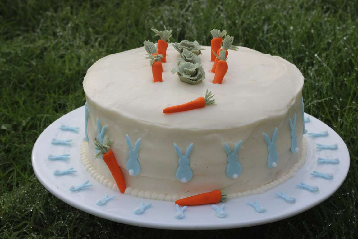 Thomas' Carroty Cake