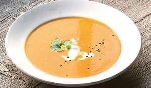 Carrot, Yoghurt, Cumin Soup