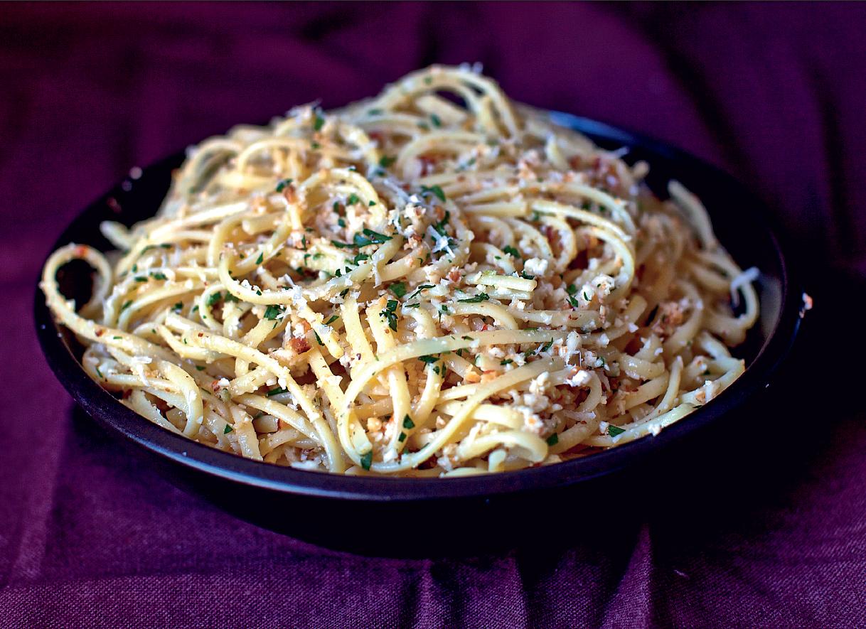 Smitten Kitchen Cookbook linguine with cauliflower pesto - the happy foodie