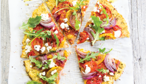 Cauliflower Flatbread Pizza