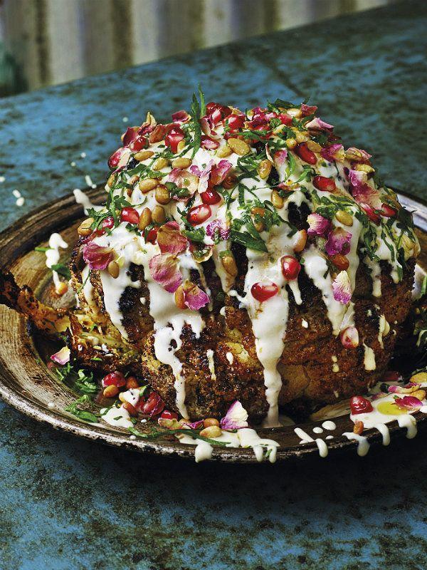 cauliflower shawarma
