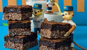 Coco Top Brownie from The Cereal Killer Cafe Cookbook