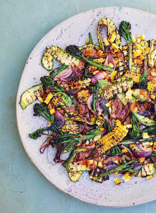 indian chargrilled summer salad sweetcorn meera sodha east best summer salad recipes