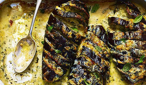 Roasted Aubergine Recipes Eggplant Yotam Ottolenghi Mary Berry