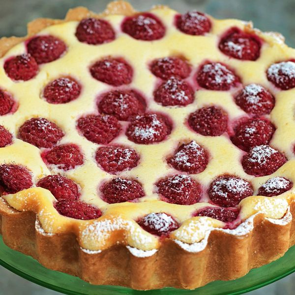 Twice-baked Raspberry Ricotta Cheesecake with a Thyme ...