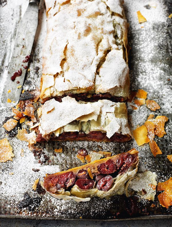 how to cook with tinned cherries cherry strudel rick stein