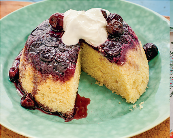 how to cook with frozen cherries cherry bakewell pudding