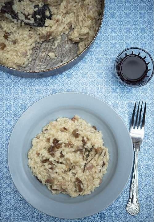Chestnut Risotto