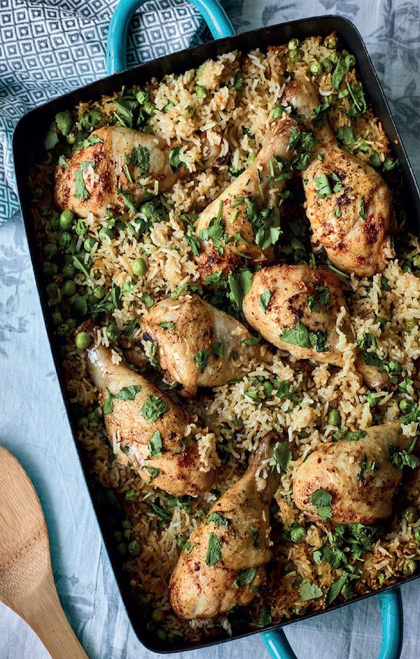 easy christmas recipes nadiya hussain chicken and rice bake
