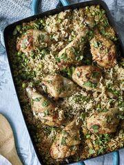 Nadiya Hussain's Jollof Pilau & Cucumber Salad Recipe