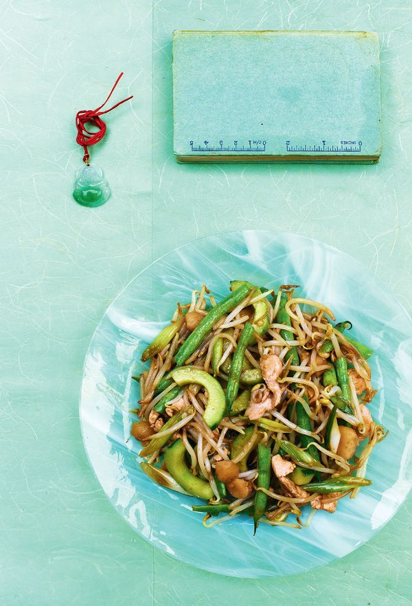 Chicken, Cucumber and Bean Sprouts