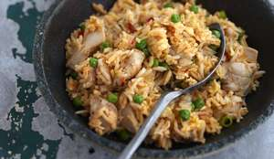 Ken Hom's Chicken Fried Rice Recipe