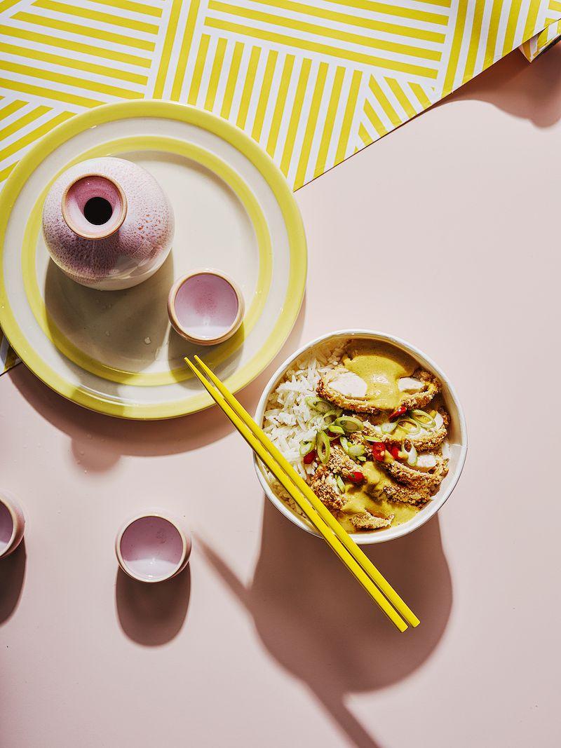 best recipes of 2020 Chicken Katsu CurryfromFakeaway: Healthy Home-cooked Takeaway Meals by Chris Bavin