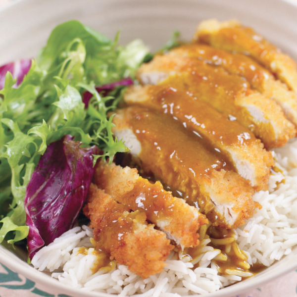 Chicken katsu curry recipe by gizzi erskine kitchen magic chicken katsu curry from gizzi erskines kitchen magic recreate your wagamamas favourite and make katsu curry at home this japanese curry is a decadent forumfinder Images