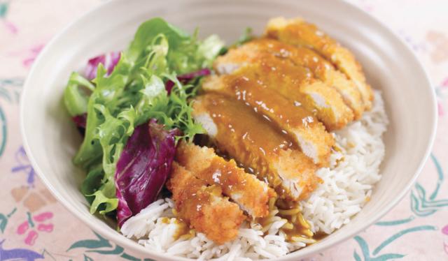 Chicken Katsu Curry Recipe By Gizzi Erskine Kitchen Magic