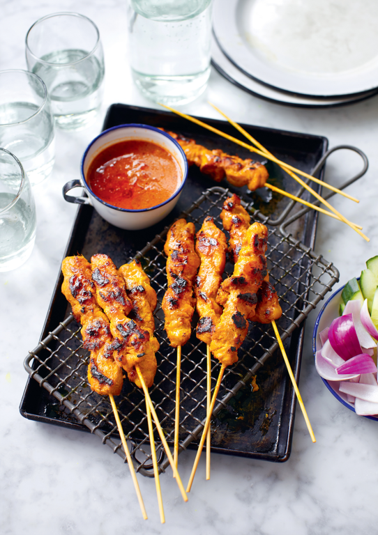 Chicken Satay Skewers (Sate Ayam)
