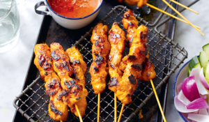 Chicken Satay Skewers from Amazing Malaysian